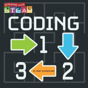 Book cover for Coding 1,2,3