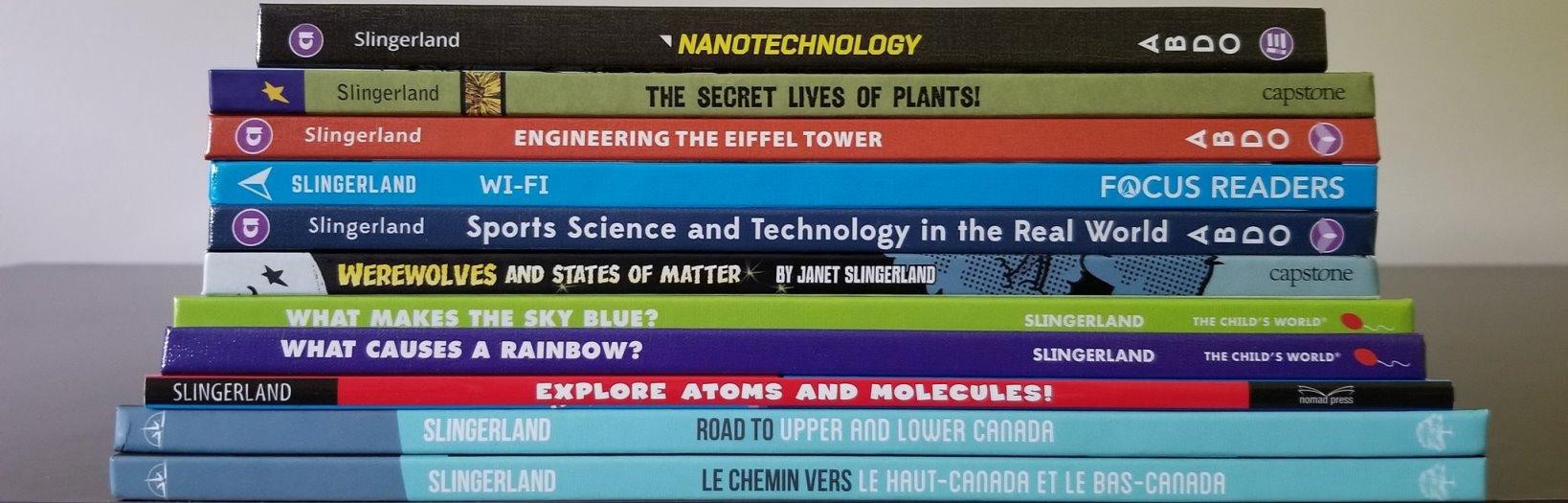 My Books Janet Slingerland