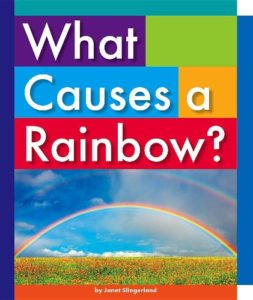 Book cover for What Causes a Rainbow?