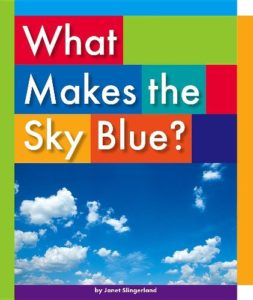 Book cover for What Makes the Sky Blue?