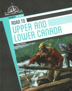 Book cover for Road to Upper and Lower Canada