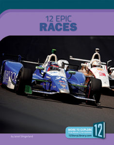 Book cover for 12 Epic Races